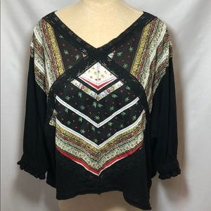 Free People Double V Top